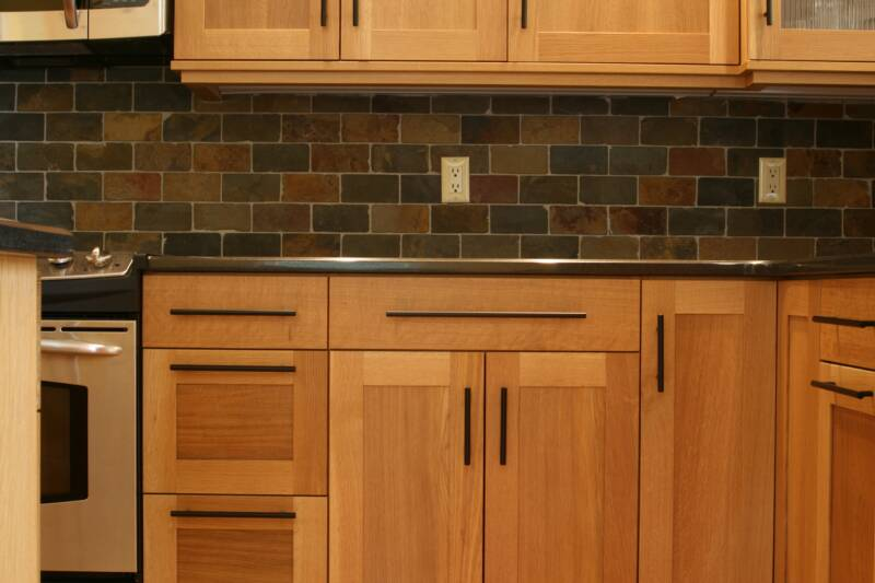Custom cabinets for the orange county ny sullivan county for Finished kitchen cabinets
